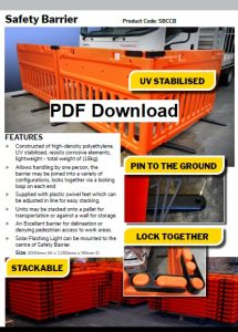 Safety Barrier Fence
