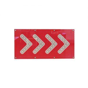 HEAVY DUTY PVC RED BANNER