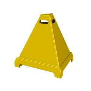 Safety Pyramid Sign 600