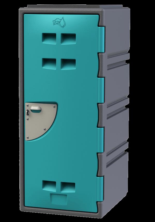 School Locker 4 tier - Teal