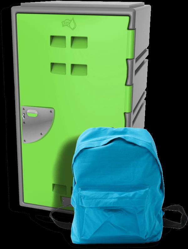 C series Locker and back pack