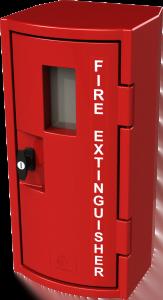 Fire Extinguisher NON LOCKING Cabinet 450