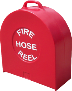 Fire Hose Reel Cover-Heavy-Duty Plastic