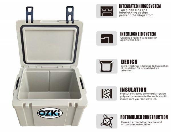 Ozki-BH25-Cooler-Box-Cover-Open